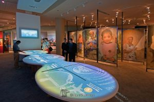 Interactive table museum
