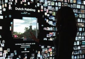 Interactive window projection
