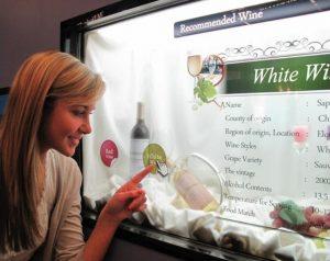 LCD Transparent screen shop