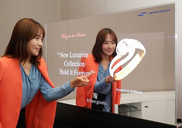 Samsung 55 mirrored oled panel