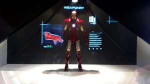 Iron Man / Virtual On Holographic Display