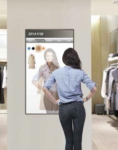 Magic LCD Mirror Display Fasion