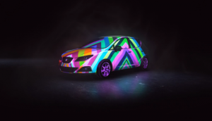 Mapping on cars
