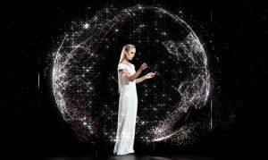 fashion holographic show
