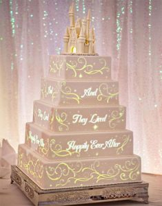 Video mapping projection on cake