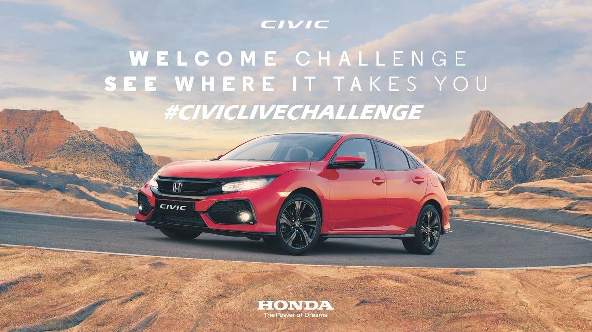 Honda civic challenge
