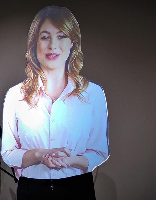 Virtual Presenter to hire