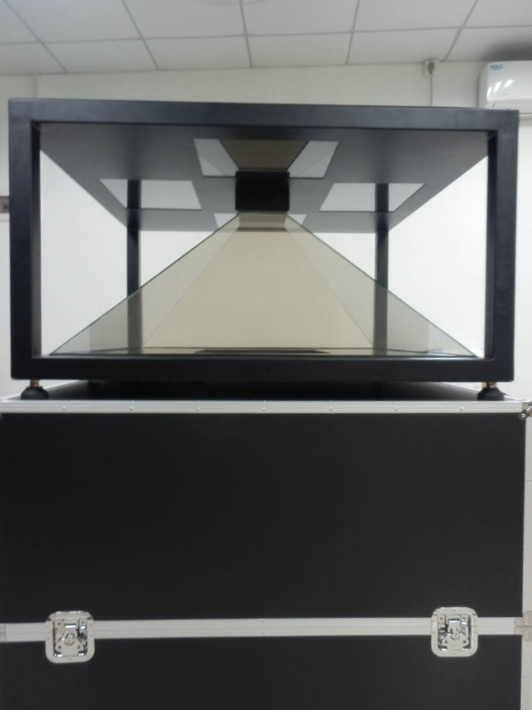Holographic display four sided 1.5 m