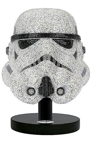 Swarovski imperial death trooper mask star wars